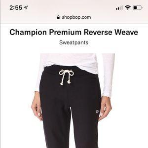 Champion Reverse Weave Joggers